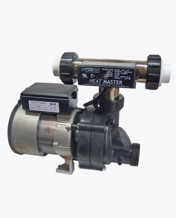 Bath Pump 7 point 7 with Tee Heater