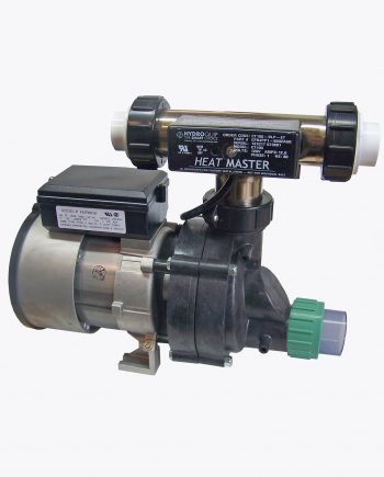 Bath Pump 77 Tee Heater with Union