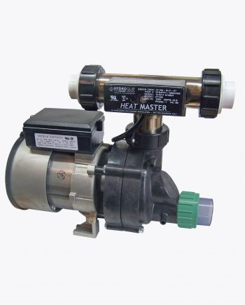 Bath Pump with Tee Heater and Union