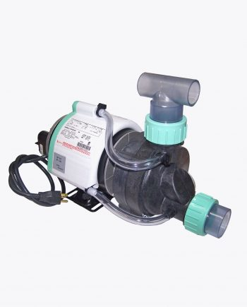 MAU-07 small bath tub pump with unions, wet end, and thermal wrap heat transfer system.